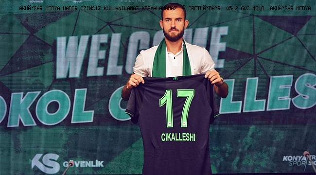 Konyaspor, geçtiğimiz sezon Akhisarspor forması giyen Sokol Cikalleshi'yi transfer etti