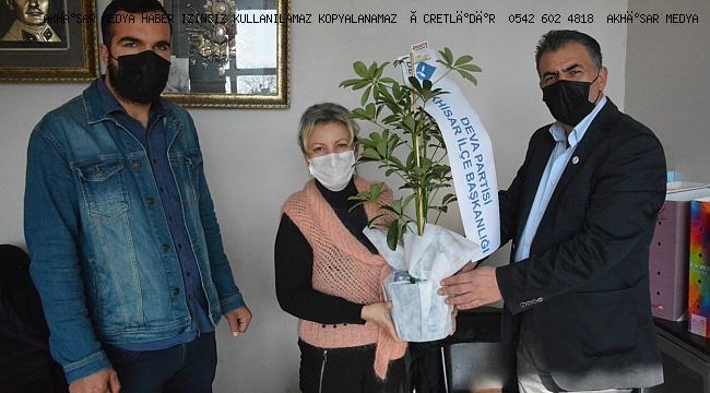 DEVA Partisi' Akhisar Medya Ziyareti