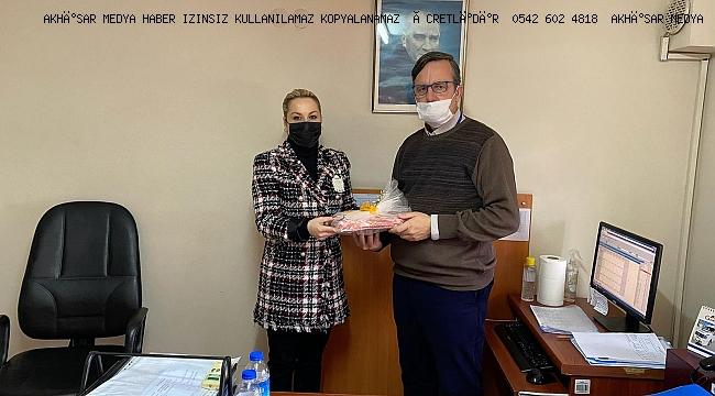 Pınar Gören  Akhisar Medya' nın Gazeteciler Gününü kutladı