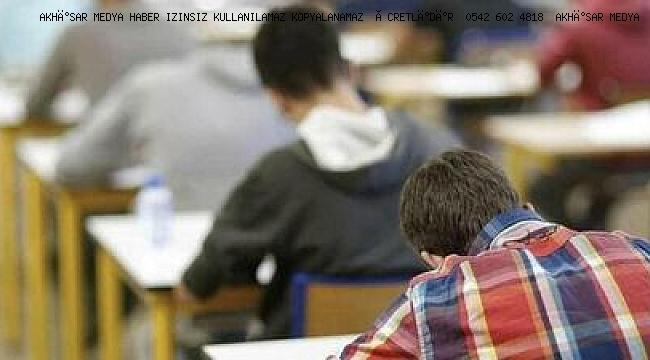 Manisa'da lise sınavlarına ilişkin önemli karar