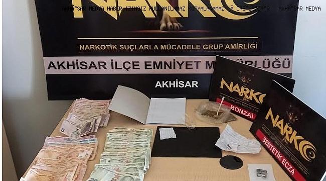Akhisar' da operasyon 3 Tutuklama