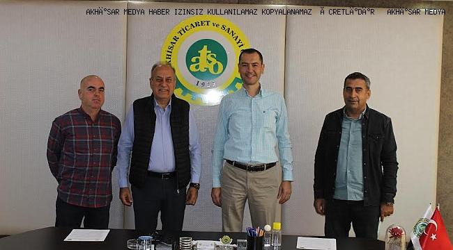 Akhisar Uslu ve Domat Zeytinlerinin Coğrafi İşaret Tescil Sözleşmesi ATSO ve Eynak Gıda Ltd.Şti. Arasında İmzalandı.