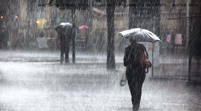 Kuvvetli Gök Gürültülü Sağanak Yağışlara Dikkat!
