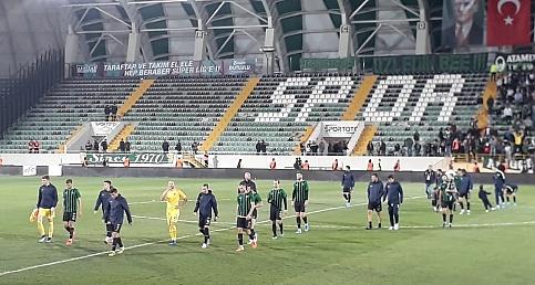 Akhsarspor Adanademirspor maçı sonrası